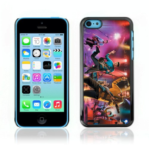 CelebrityCase Polycarbonate Hard Back Case Cover for Apple iPhone 5C ( Star Trek Band Painting )
