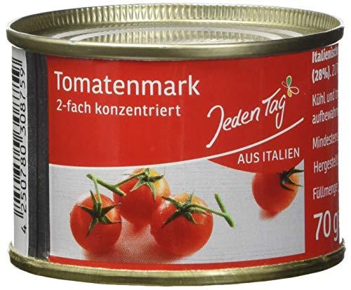Jeden Tag Tomaten- mark 2-fach konzentriert, 70gm