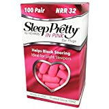 HEAROS Sleep Pretty in Pink Ear Plugs, with The Highest Snoring