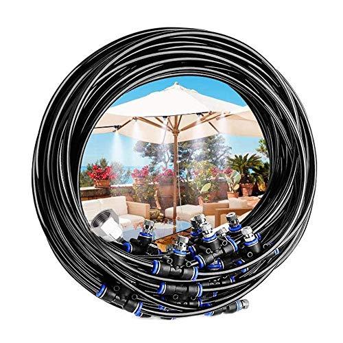 """Niguleser Outdoor Trampolin Sprinkler, Misting Cooling System Kit, Gartenbewässerungssystem, Metallverbinder (3/4\"""", 1/2\""""), Außerhalb Wasserspielzeug"""