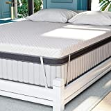 Mattress Topper Full 3 Inch, Serweet Dual-Layer Memory Foam Mattress Pad, Cool Ventilated & Target Support System for All-Night Comfy, Removable Washable Soft Cover, 100-Night Trial, 10-Year Support