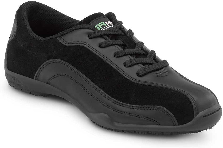 SR MAX Malibu Women's Black Slip Resistant Sneaker