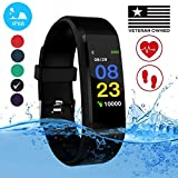 Burn-Rate Fitness Tracker, Heart Rate Monitor - Smart Watches for Women & Men, Color Smart Watch...
