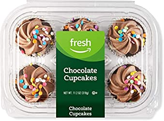 Fresh Brand – Chocolate Cupcakes, 11.2 oz (6 ct)