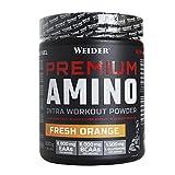 Weider Premium Amino Power 800 g Orange. Con aminoácidos esenciales y electrolitos. Perfecto Intraentreno.