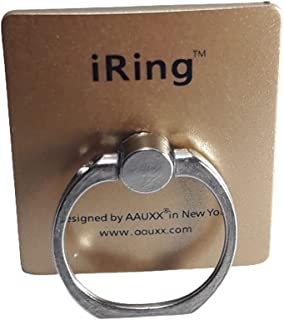 iRing Link, Smartphone Grip, Universal, for Most Smartphones, Gold