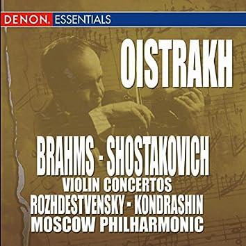 Brahms: Violin Concertos, Op. 77 - Shostakovich: Violin Concertos, Op. 129