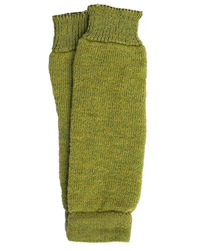 Hirsch Natur Hirsch Natur, Baby- und Kleinkind Krabbelschoner/Beinstulpen, 100% Wolle (Grüne, One size fits most)
