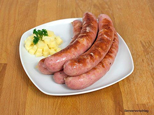 Mettenden gebrüht mit Käse, 2 Packungen zu 5x100g - Mettwurst/Grillwurst ideal für Grill und Pfanne - Original westfälisch Ringhoff