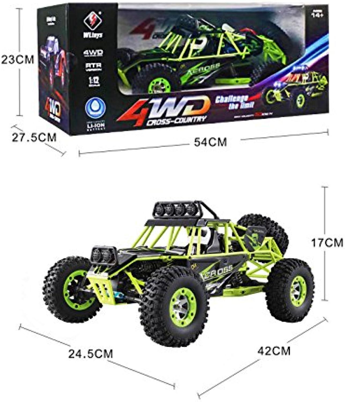 Faironly 12428 1 12 4WD Crawler RC Auto Elektrische Allradantrieb Klettern RC Auto mit LED-Licht RTR B07QRNY3MF Für Ihre Wahl    Deutsche Outlets