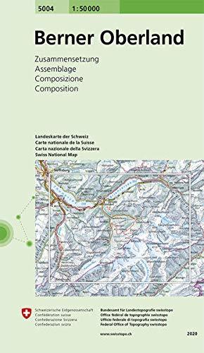 Swisstopo 1 : 50 000 Berner Oberland: Zusammensetzung (National Map Composite)