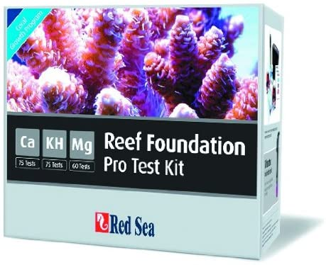 Red Sea Reef Foundation Test - Dedication Kit Courier shipping free Magnesi Calcium Alkalinity