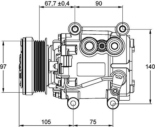 MAHLE ACP 1113 000P A/C-Kompressor BEHR PREMIUM LINE
