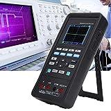 【𝐒𝐞𝐦𝐚𝐧𝐚 𝐒𝐚𝐧𝐭𝐚】 Osciloscopio multifuncional, 4 EN 1 Osciloscopio de 2 canales Instrumento de diagnóstico automotriz Osciloscopio universal Multímetro Fuente de señal analógica(EU)