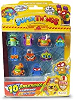 SuperThings Rivals of Kaboom - Secret Spies - Blíster con 10 Figuras (PST6B016IN00), Incluye 1 Figura Dorada Super Rare