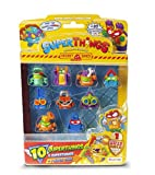 SuperThings Rivals of Kaboom - Secret Spies - Blíster con 10 Figuras (PST6B016IN00), Incluye 1...