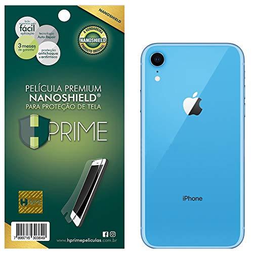 Pelicula NanoShield para Apple iPhone XR - VERSO, Hprime, Película Protetora de Tela para Celular, Transparente