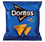 Doritos Cool Ranch Flavored Tortilla Chips, 1 Ounce (Pack of 104)