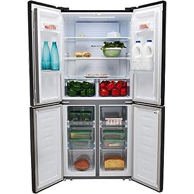 Fridgemaster MQ79394FFS American Fridge Freezer
