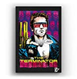 Arnold Schwarzenegger aus Film Terminator - Original