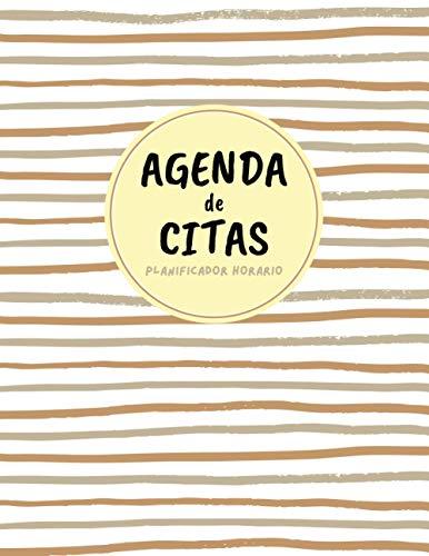 Agenda de Citas Planificador Horario: Agenda de Citas por Horas 08:00 - 22:00 ( 1 AÑO COMPLETO) Libro de Citas o Reservas para Cualquier Negocio | ... DE ESTÉTICA | RESTAURANTE | Idea de Regalo