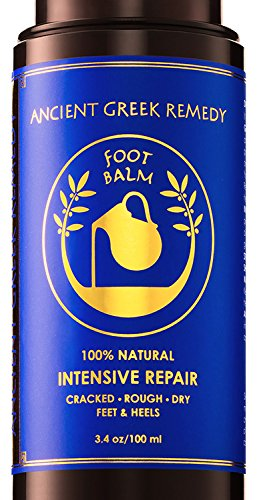 Organic Foot Cream, Dry Feet Moisturizer, Cracked Heel Treatment, Soft Feet Balm, Rough Foot Care Kit,...