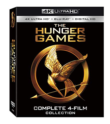Save 53% off of Hunger Games Complete 4-Film Collection (4K UHD, Blu-ray, Digital) @ $46.41 USD (Amazon)