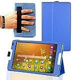 Navitech Blaues Hülle Cover mit Multi Stand Funktion für das Huawei MediaPad M1 8.0