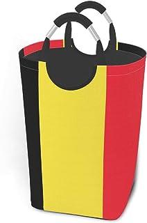 N\A Panier à Linge Drapeau Belge avec poignées Grand Organisateur Pliable Panier à Linge pour Chambre d'enfants vêtements ...