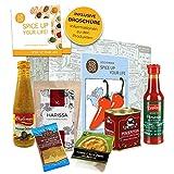 Scharf Essen Geschenk Box 'Spice up your life' | Scharfe Sauce Scharfes Gewürz Chili uvm | Scharfes Geschenk für Männer Gewürz Geschenkset für Frauen