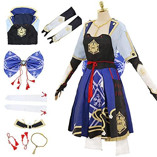Genshin Costume Cosplay Hu Tao Ganyu Mona Venti...
