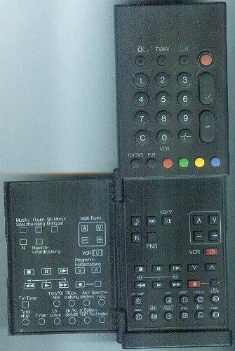 Panasonic TNQ8E0435 Original-Fernbedienung für Video Cassette Recorder [TV, Video, Text, Stereo]