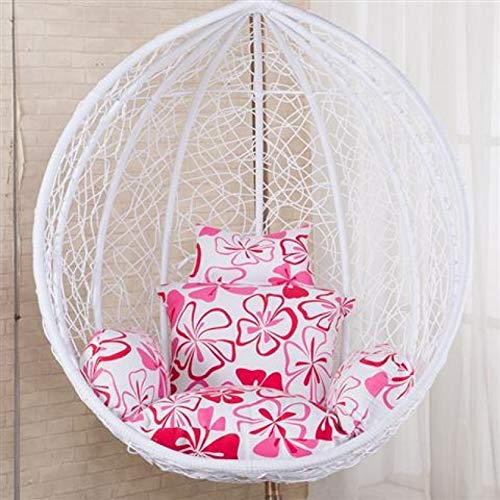 HY&DD Nest Hanging Chair Back,Hammock Chair Cushions,Nest Shaped Cushion,Back Cushion,Hanging Basket Cushion,Without Stand S