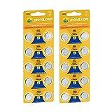 MovilCom - 20 Pila Boton AG3 Pilas Reloj 1.5V Equivalente a 392, 392, SR41W, V392, 392, D392, S736E, 2478, LR41, 280-13, L736, SR41