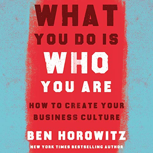 Couverture de What You Do Is Who You Are: How to Create Your Business Culture