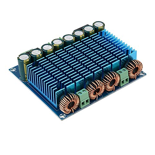 Mothinessto Placa Amplificadora De Potencia Digital, Placa Amplificadora Digital De Potencia Ultra Alta Amplificador De Audio De Doble Chip para Audio