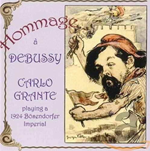 Hommage a Debussy: Carlo Grante Playing a 1924