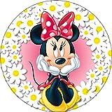 Essbarer Tortenaufleger Minnie Mouse (4 verschiedene Motive) (Motiv 3)