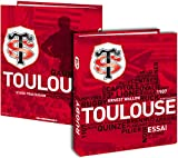 Classeur A4 Toulouse - Collection officielle Stade Toulousain - Rugby Top 14