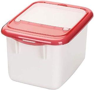 AWAING Bocaux Conteneurs de céréales à la mesure de l'épreuve de l'humidité en plastique de tasse de riz Boîte de rangemen...