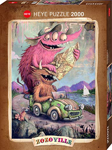 Heye Road Trippin´, Zozoville 2000 Teile Puzzle