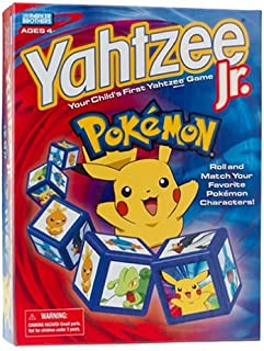 Pokemon Yahtzee Jr. Game