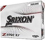 Srixon Z-Star XV 7 Bola de Golf, Hombres, Blanco, Talla única
