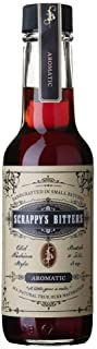 Scrappy's Bitters - Aromatic, 5 ounces - Organic Ingredients, Finest Herbs and Zests, No Extracts, Artificial Flavors, Chemicals or Dyes. Made in the USA
