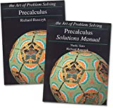 Art of Problem Solving: Precalculus Books Set (2 Books) - Precalculus Text, Precalculus Solutions Manual