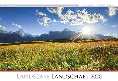 Calendario da muro 49,5 x 34 cm landscape 2020