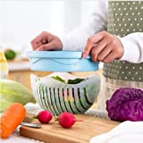 Super Supplies Salad Cutter Bowl, Quick Salad Maker in 60 sec,...