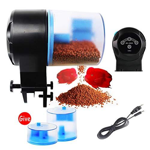 Alimentador Automático De Peces, Alimentador De Peces Temporizador Re