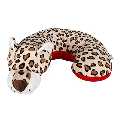 Animal Planet Travel Pillow for Kids, Leopard