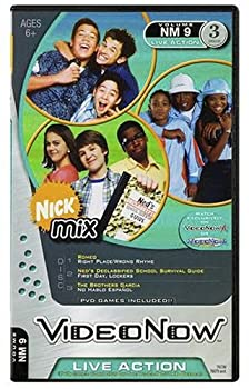 Toy Hasbro Videonow Personal Video Disc 3-Pack: Nick Mix #9 Book